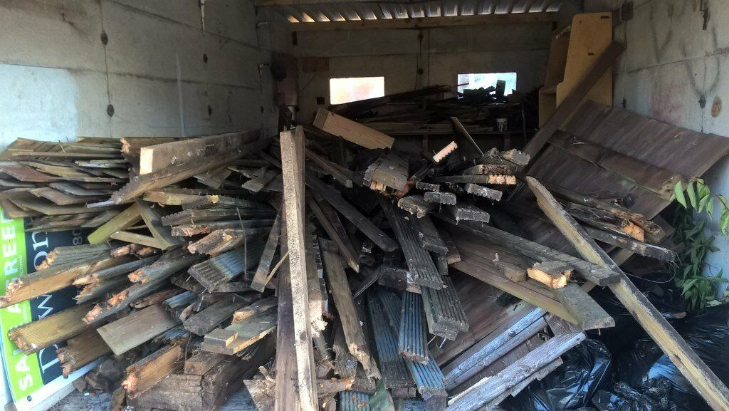 Free Wood! Ideal For Log Burners etc (Dismantled Decking)