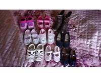 Girl's shoes (sizes 3-7)