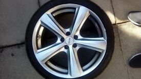 Alloy wheels 18 inch only £80
