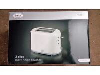 Swan 2 Slice Toaster - BRAND NEW AND ONLY £10