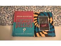 2 puzzles books
