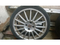 "4 17"" Alloy Weels with Tyres"