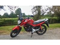 Honda CB125F 2016 £1800 ono