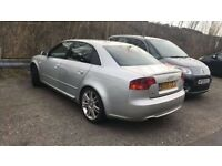 !!!2005 Audi A4 s line.full leather,sat nav,spares or repairs!!!!!!