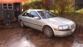 s80 volvo for parts or repair