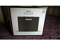 Marshall Code 50 Combo Amplifier with Foot Controller