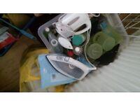 Caravan kitchen items