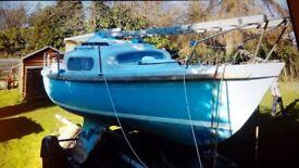 Pandora sailing boat