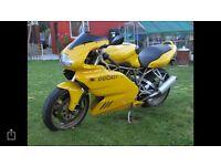 1998 Ducati 900 ss ie