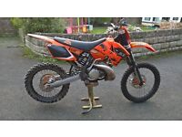 ktm 250 sx not exc xc 200 or 125