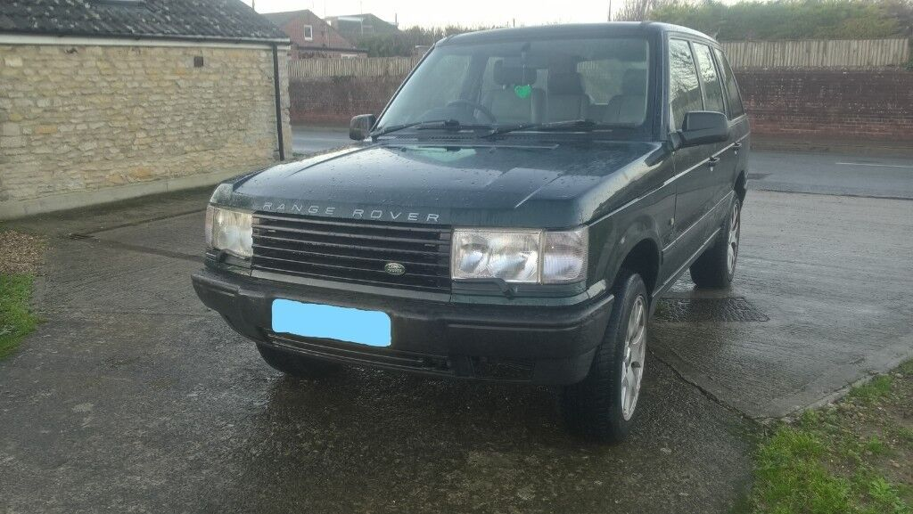 13f6c58ad5d Range Rover Land Rover P38 diesel 6 cylinder BMW engine full leather not  discovery