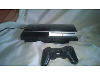 play station 3 fully working but fans noisy best for spares