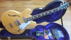 Epiphone Elitist 1965 Casino 2006 Natural - Japan - Gibson USA Pickups