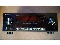 Pioneer vsx 329 with 5 speakers and sub