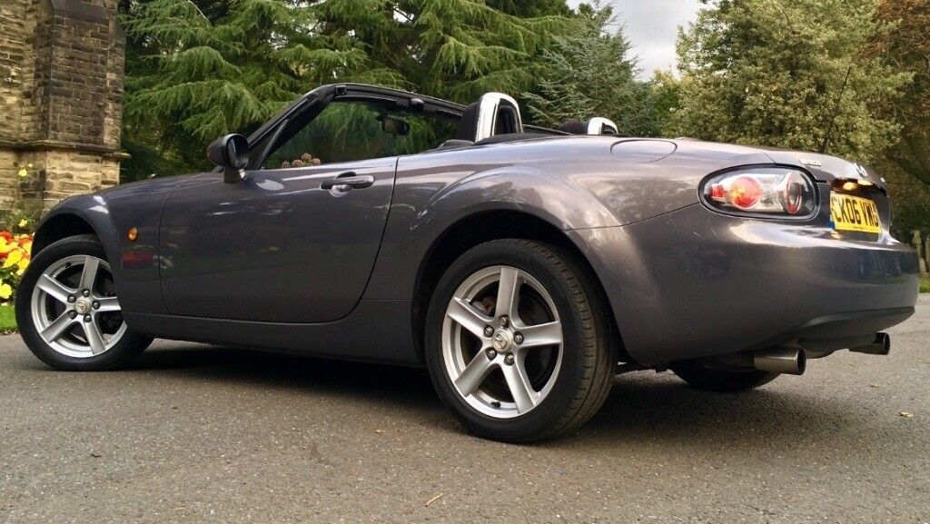 2006 MAZDA MX5 1.8 ROADSTER CONVERTIBLE, MOT & TAX, LOW MILES, SERVICE HISTORY, IMMACULATE CONDITION