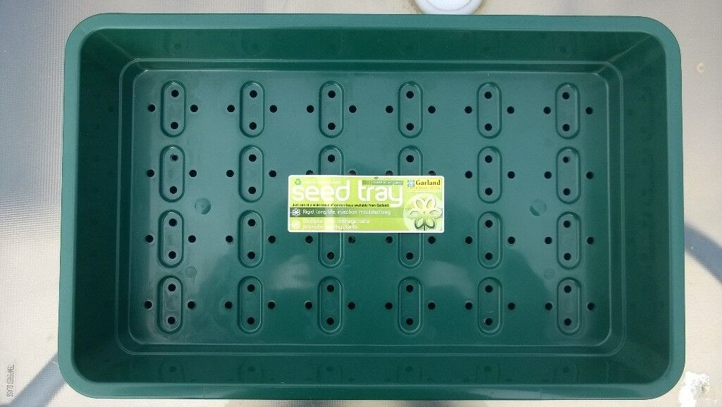 New 12 Garland seed trays full size green heavy duty