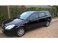 Vauxhall Astra Life 1.8 petrol automatic, black, 62,000, service history