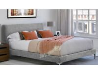King size David Phillips bed and mattress