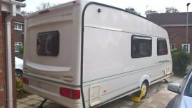 ABBEY VOGUE 4 BEARTH 416 GTS 1999 touring caravan
