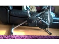 exercise bike. good workout . been given a newer model. needs gone. £40 ono
