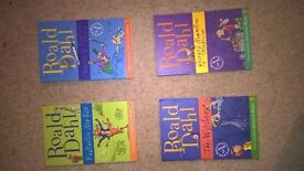 4 ROALD DAHL BOOKS CHEAP BUNDLE!