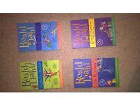 4 ROALD DAHL BOOKS CHEAP BUNDLE!