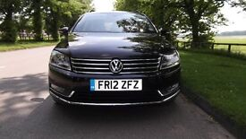 2012 VOLKSWAGEN PASSAT 1.6 TDI ESTATE BLUEMOTION SE TECH BLACK 38K MILES ONLY