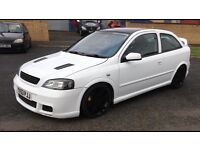 Vauxhall Astra Gsi 2003 Shell in Superb white