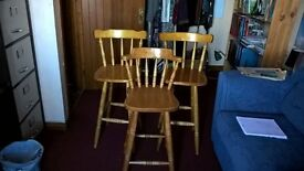 3 excellent Stools for Sale