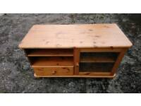 Pine TV Unit (TV not included)