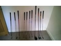 Left handed full set of golf clubs Taylormade r7 irons Callaway x 460 driver