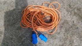 Electric hookup cable