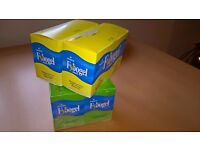Fybogel Natural fibre drink, lemon & plain flavours. Weight loss / constipation