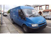 Ford Transit MWB 2002, Blue
