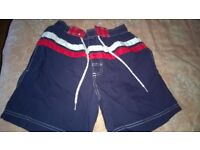 Mens shorts Surf Central Unused size S blue/red/white Length is 16 inch inside leg is 6 inch