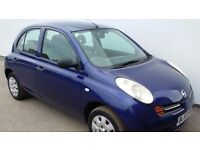NISSAN MICRA 1.2 5 DOOR HATCHBACK 2003 53 PLATE MOT AUGUST