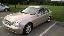 Mercedes Benz C Class Elegance 220 Diesel Automatic in Gold,