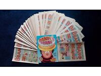 112 copies of the Beano Comic all in perfect condition.
