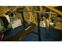 Maximuscle Weights Bench With 35kg Of Weights