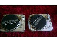 Two home mix belt drive turntables for sale
