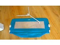 Childs blue bed guard