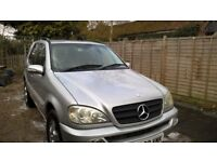 Mercedes ML270 Automatic, 7 seats, good condition for year, Great family car
