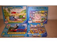 Thomas the Tank Engine Toys: A Game and 6 Puzzles