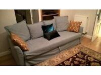 3 Seater HOLMSUND IKEA Sofabed Half Price!