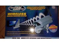 Wireless CCTV Camera and Receiver £35