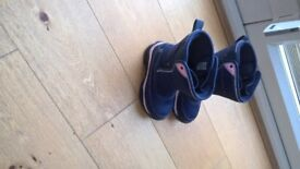 Girls boots - size 10 - warm and waterproof