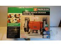 Parkside bench grinder PDOS 200 A1 - new