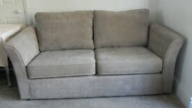 Buoyant Newry Sofa settee Beige colour / small fabric tear on left arm