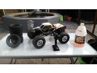 HPI XL Savage nitro with the LRP ZR.32 engine
