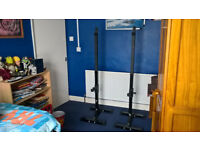 Heavy Duty Adjustable Squat Stands